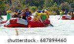 Commando Raft While Rafting On...