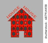 east house icon | Shutterstock . vector #687914458