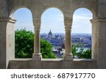 beautiful view from the... | Shutterstock . vector #687917770