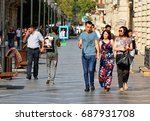 baku  azerbaijan   july 23 ... | Shutterstock . vector #687931708
