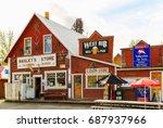 talkeetna  alaska  usa   may 19 ... | Shutterstock . vector #687937966