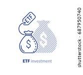 Etf Investment Concept  Bigger...