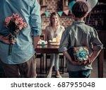 Family Celebrating Mother's...