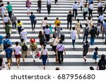 many people | Shutterstock . vector #687956680