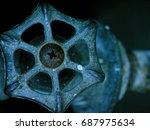 1960s outdoor faucet handle   Shutterstock . vector #687975634