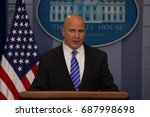 national security advisor h. r. ... | Shutterstock . vector #687998698