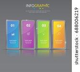 infographic presentation... | Shutterstock .eps vector #688006219