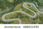 transfagarasan mountain road in ... | Shutterstock . vector #688021450