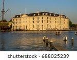 het scheepvaartmuseum  national ... | Shutterstock . vector #688025239