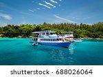 Island Tour Boat At Racha Yai...