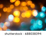 defocused of light blue and... | Shutterstock . vector #688038394