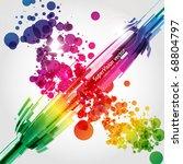 abstract background vector | Shutterstock .eps vector #68804797