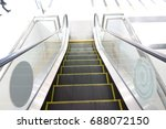 Escalator In Shopping Mall....