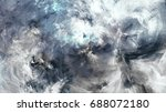 surreal cloudscape. abstract... | Shutterstock . vector #688072180