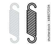 spring vector icon | Shutterstock .eps vector #688072534