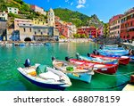 view of the beautiful seaside... | Shutterstock . vector #688078159