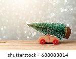 christmas holiday concept with... | Shutterstock . vector #688083814