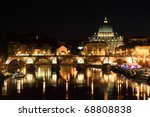Sant' Angelo Bridge And...