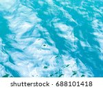 reflection on the water surface ... | Shutterstock . vector #688101418