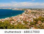 puerto vallarta  mexico.scenic... | Shutterstock . vector #688117003