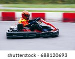 carting race speed motorsport... | Shutterstock . vector #688120693