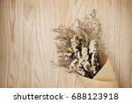 beautiful flower on working... | Shutterstock . vector #688123918