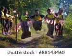 yogyakarta  indonesia   june 24 ... | Shutterstock . vector #688143460