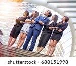 business people collaboration... | Shutterstock . vector #688151998
