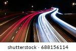 Speed Traffic   Light Trails O...