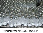 bottle drug laboratory  | Shutterstock . vector #688156444