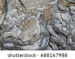 stone background texture... | Shutterstock . vector #688167988