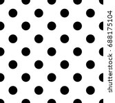 geometric grid seamless pattern ... | Shutterstock .eps vector #688175104