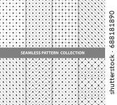 vector abstract geometric... | Shutterstock .eps vector #688181890