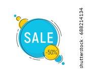 minimal style flat trendy... | Shutterstock .eps vector #688214134