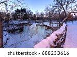 minnehaha falls minneapolis | Shutterstock . vector #688233616
