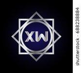 xw logo | Shutterstock .eps vector #688238884