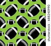 seamless pattern illustration   ... | Shutterstock .eps vector #688240990