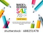 vector horizontal back to... | Shutterstock .eps vector #688251478