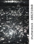 black sea water with glittering ... | Shutterstock . vector #688251868