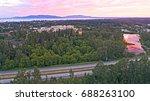 bellingham washington city... | Shutterstock . vector #688263100