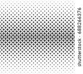 black and white star pattern  ...   Shutterstock .eps vector #688266376