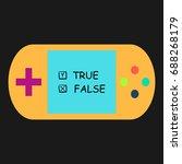 true and false simple vector...