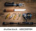 Fishing Equipment Still Life O...