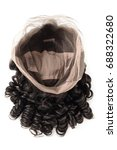 loose wave black human hair... | Shutterstock . vector #688322680