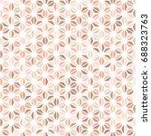 pastel beige  brown  blush  red ... | Shutterstock .eps vector #688323763