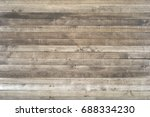 dark wood texture background... | Shutterstock . vector #688334230