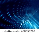 abstract background element.... | Shutterstock . vector #688350286