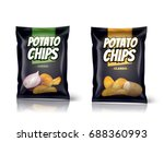 Potato Chips Package Design ...