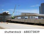 road construction | Shutterstock . vector #688373839