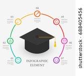 info graphic design | Shutterstock .eps vector #688405456